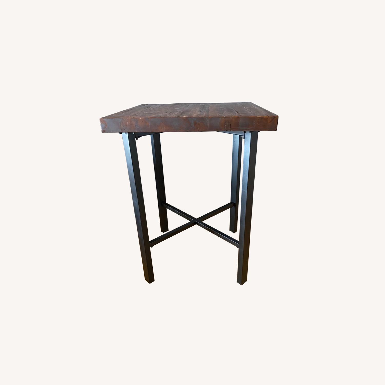 Pottery Barn High Top Bar Table - image-0