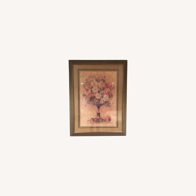 Bloomingdale's Urn of Roses Haggman Print - image-5