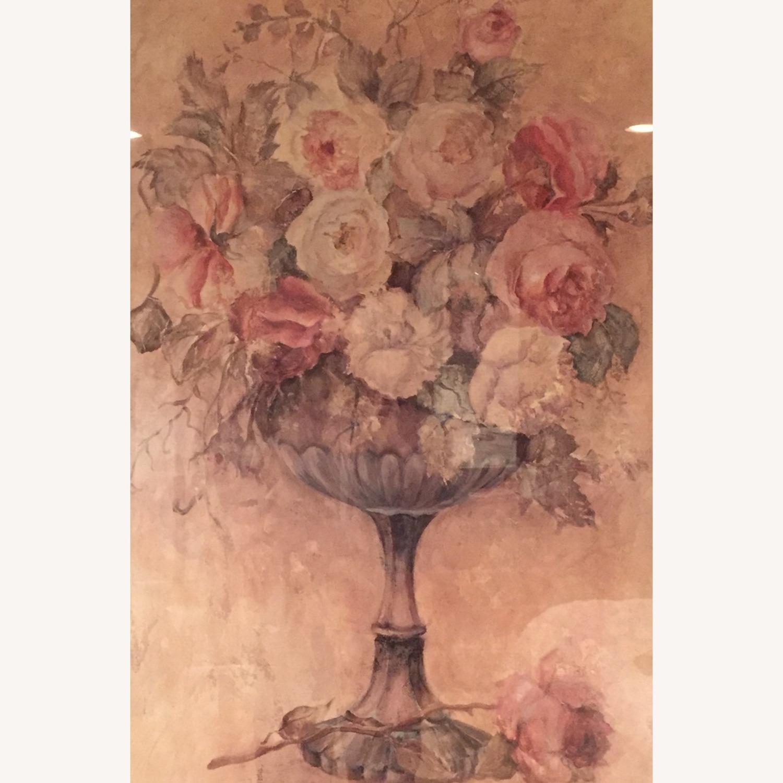 Bloomingdale's Urn of Roses Haggman Print - image-1
