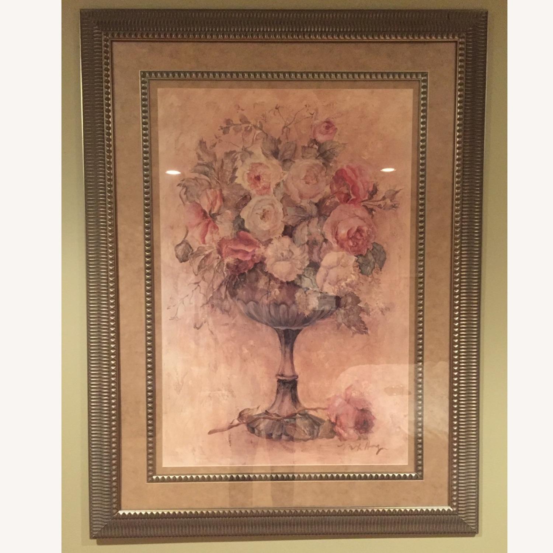 Bloomingdale's Urn of Roses Haggman Print - image-0