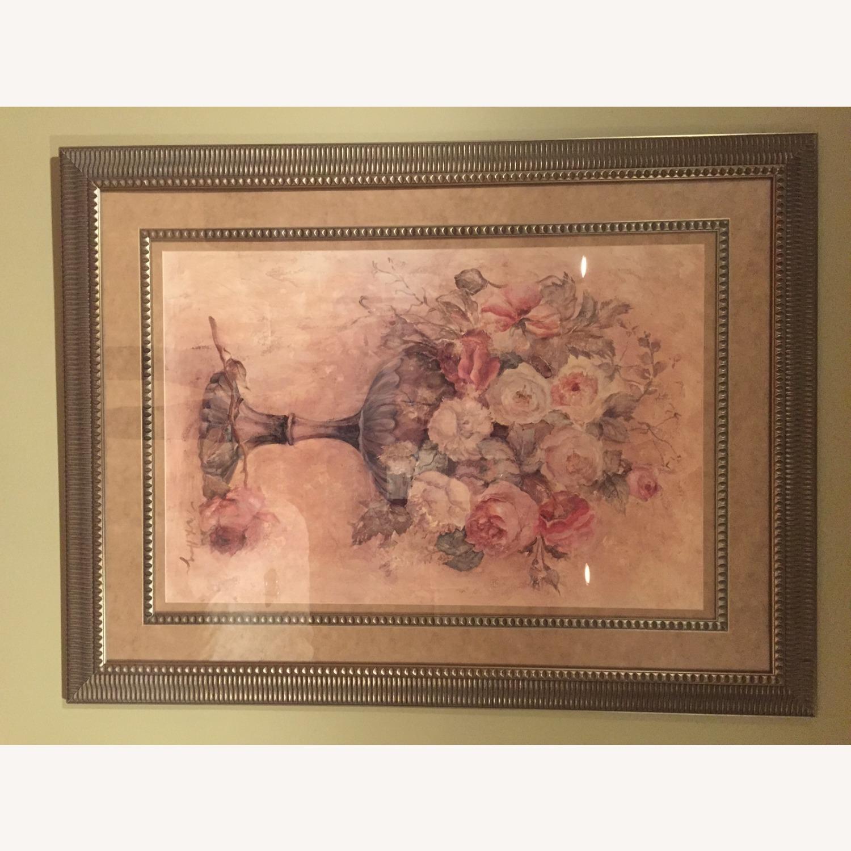 Bloomingdale's Urn of Roses Haggman Print - image-4