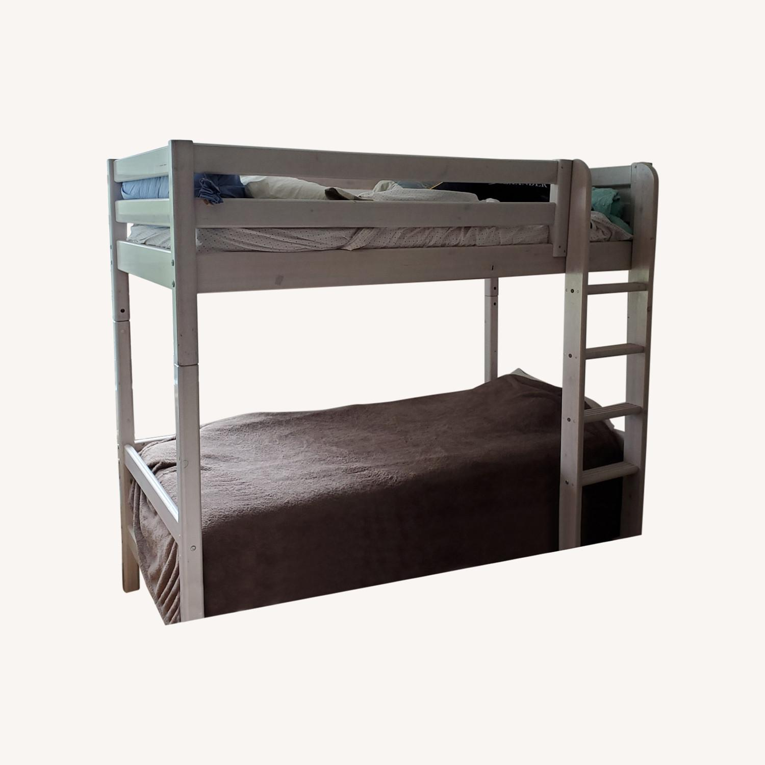 Flexa Classic High Bed with Straight Ladder - image-0