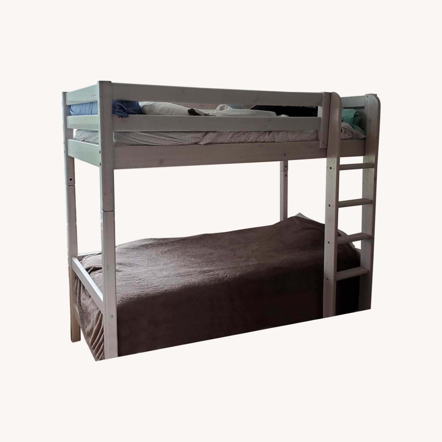 Flexa Classic High Bed with Straight Ladder - image-14