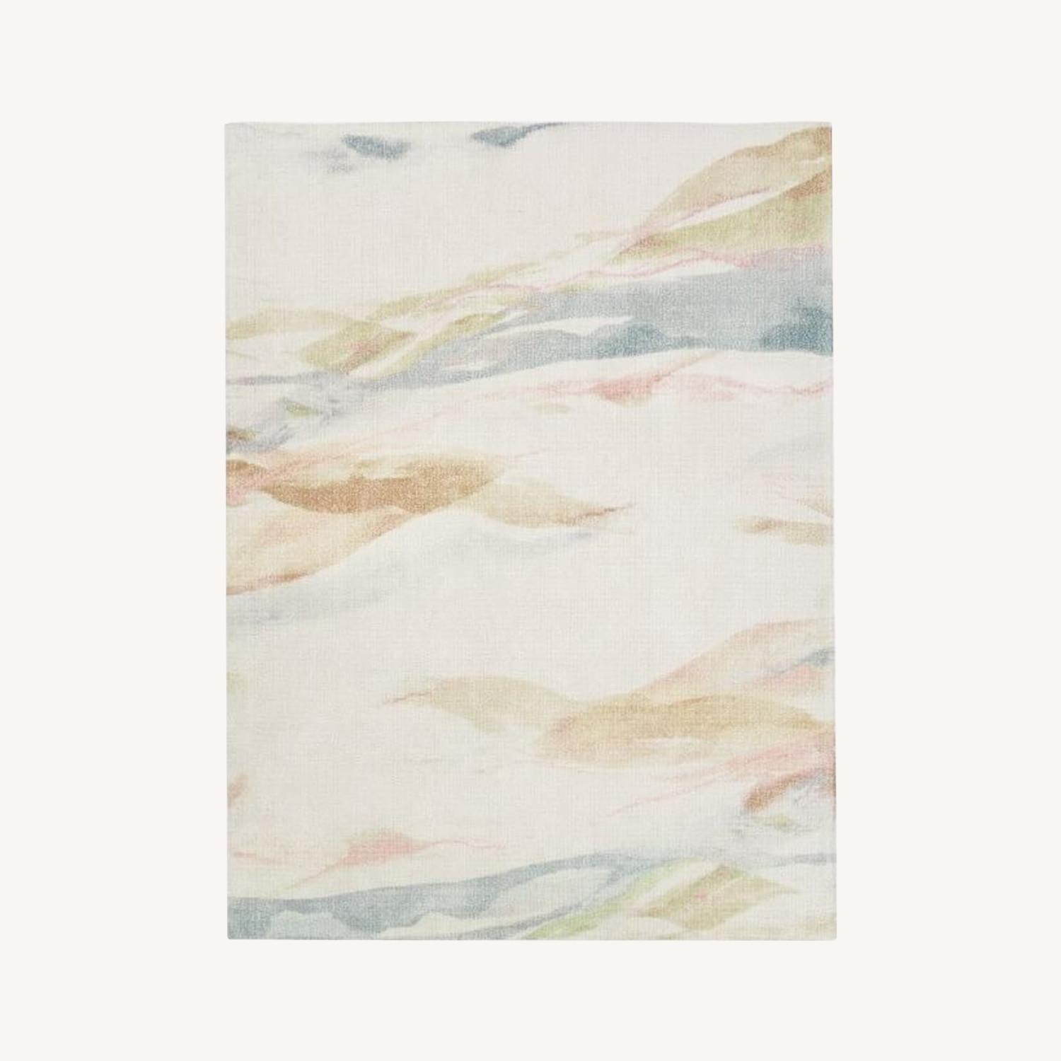 West Elm Sunrise Hillside Rug - image-0