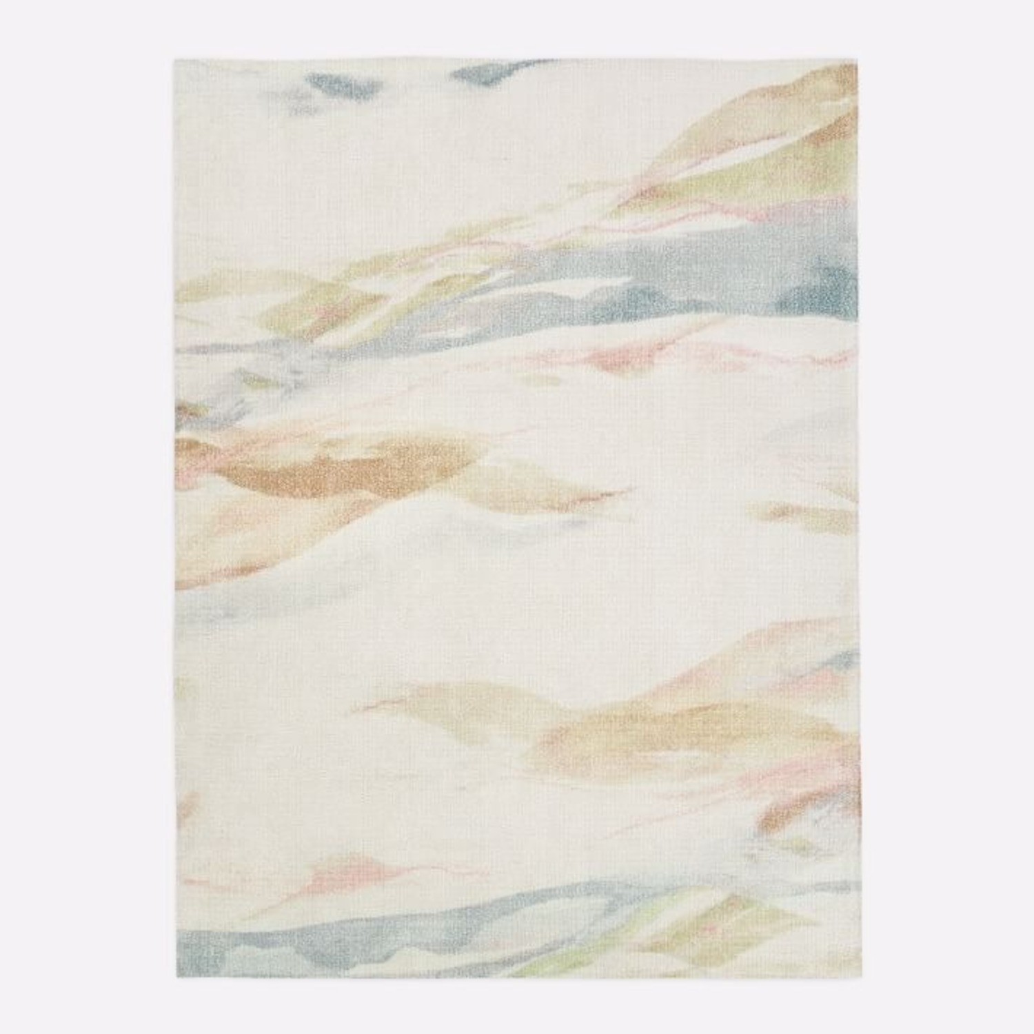West Elm Sunrise Hillside Rug - image-1