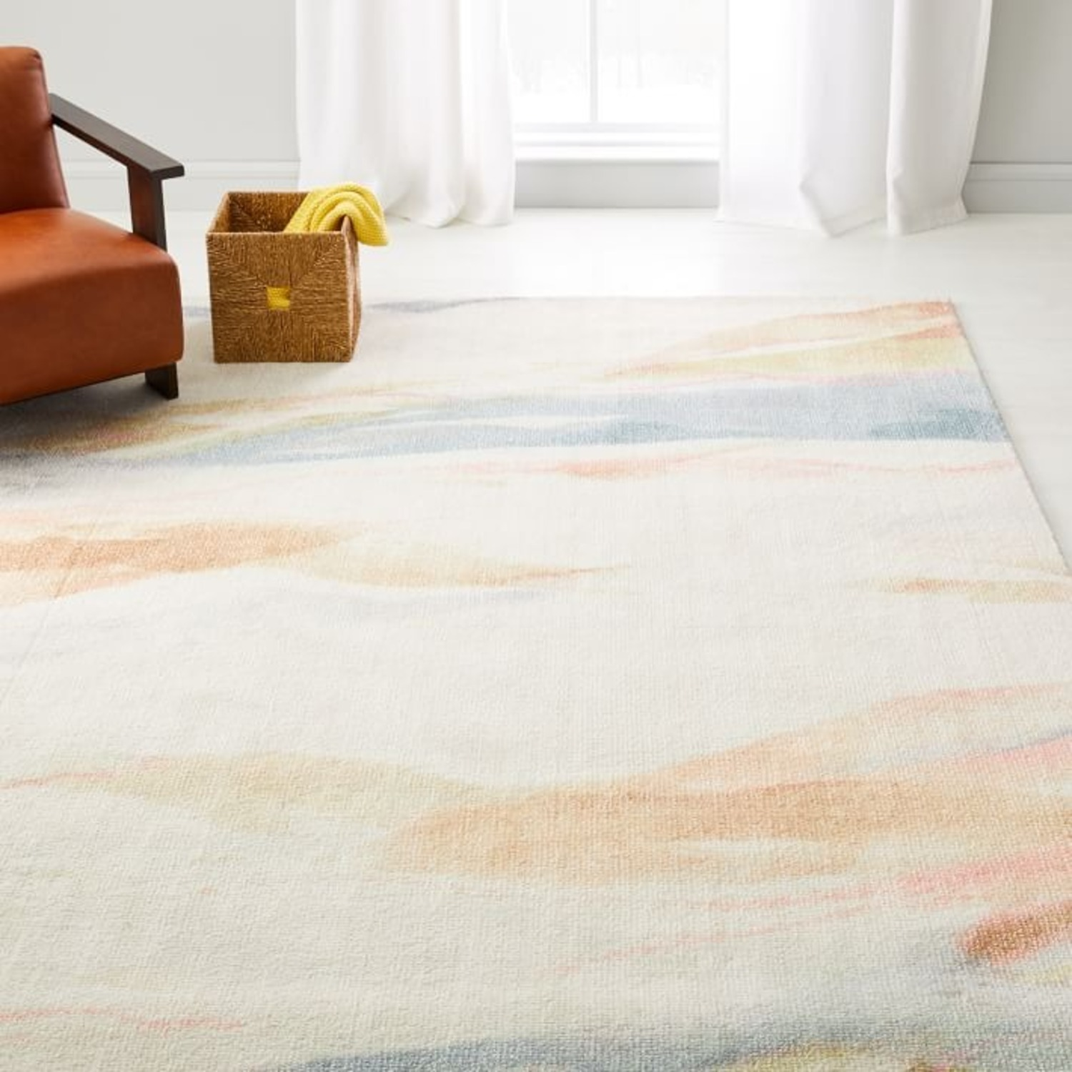 West Elm Sunrise Hillside Rug - image-2