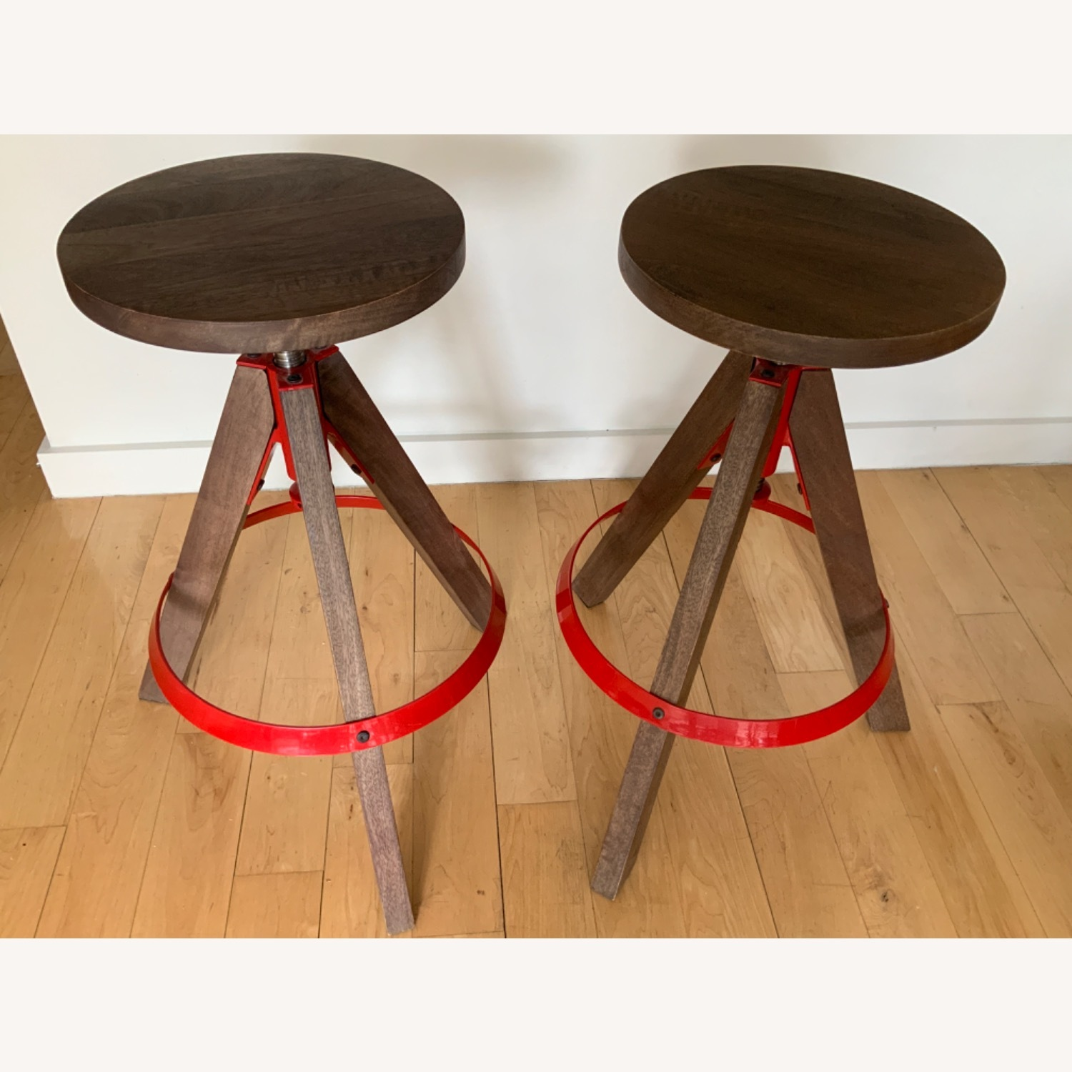 CB2 Height Adjustable Counter Stools - image-1