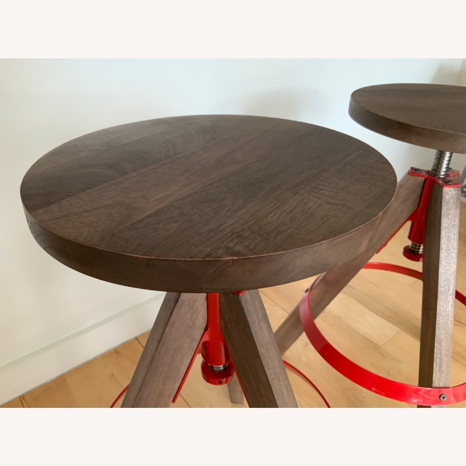 CB2 Height Adjustable Counter Stools - image-3