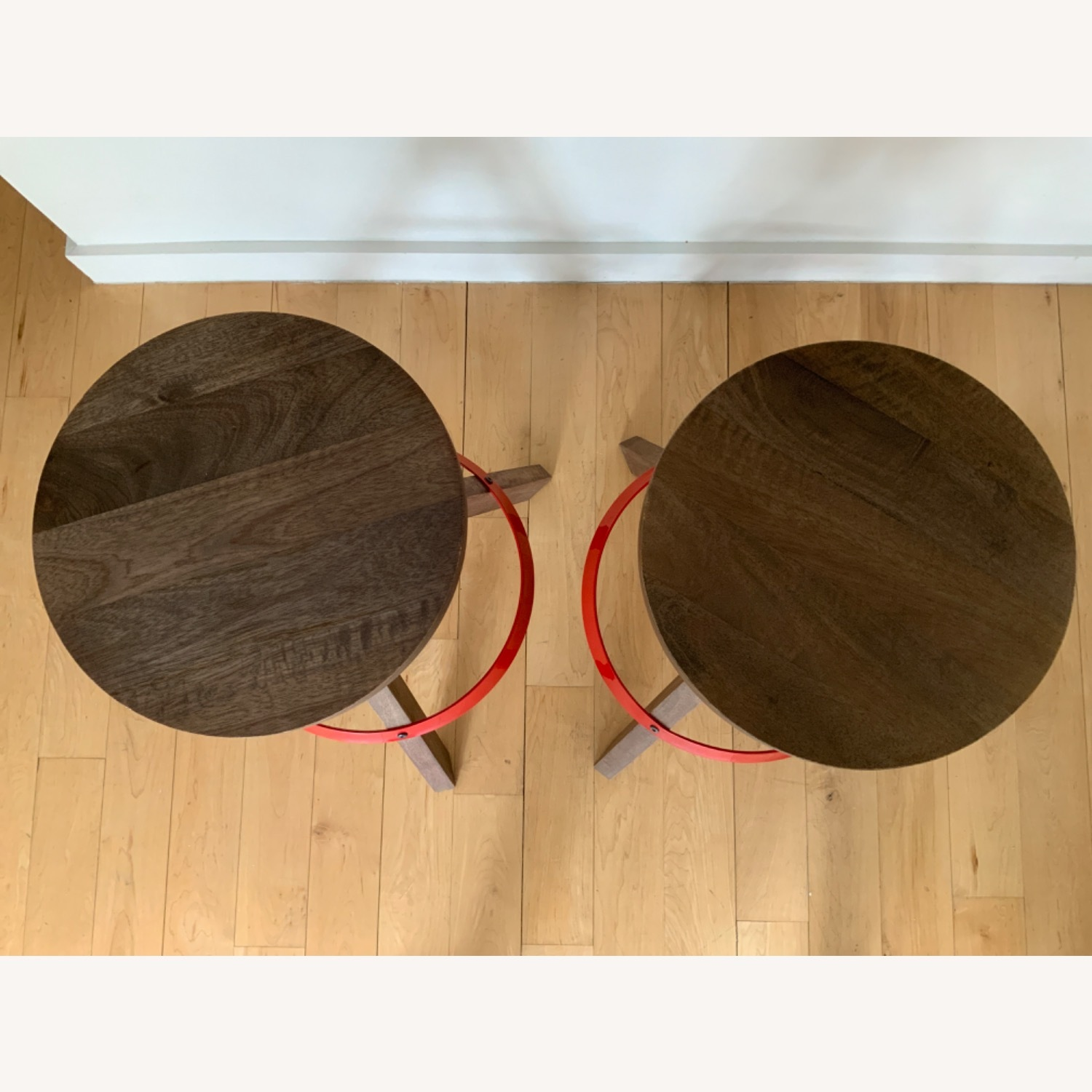 CB2 Height Adjustable Counter Stools - image-2