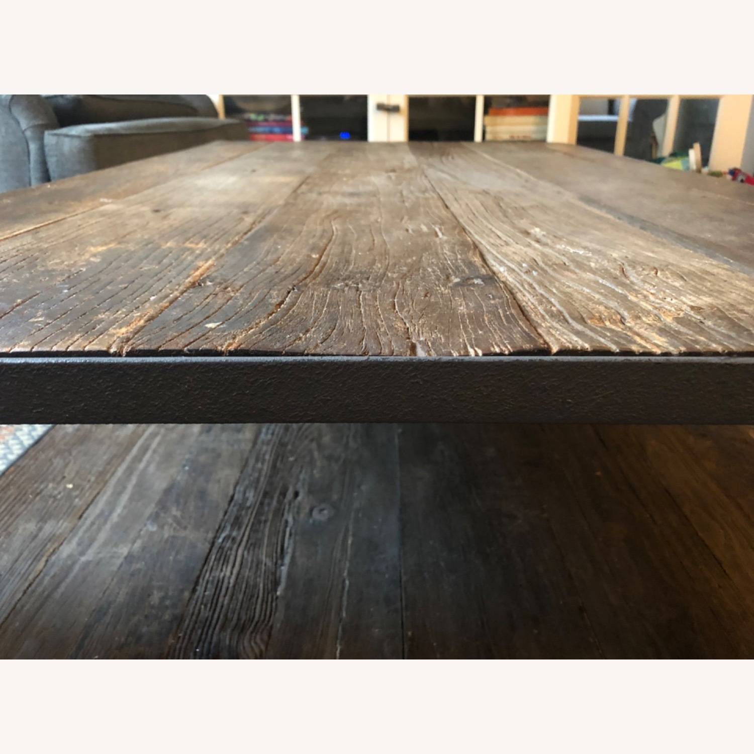 Restoration Hardware Dutch Industrial Coffee Table - image-4