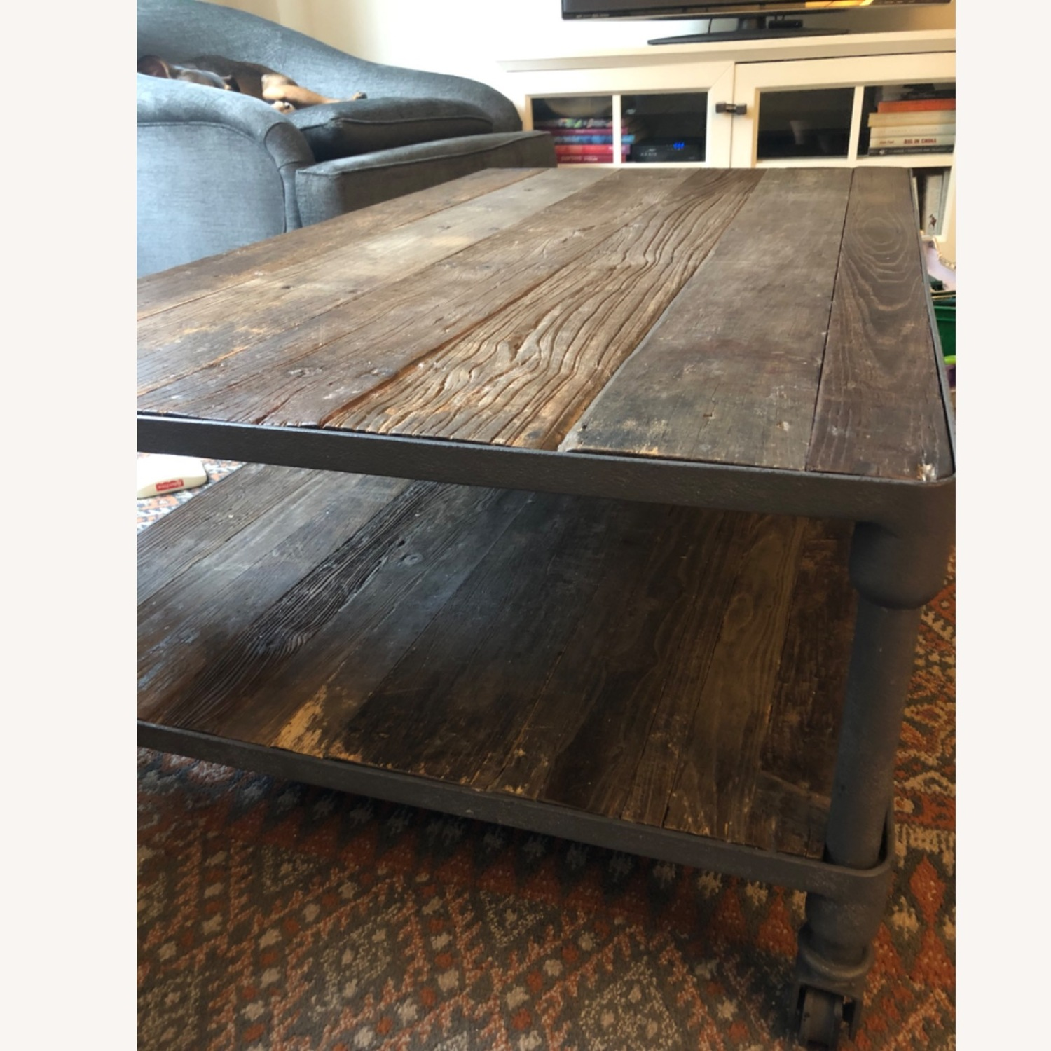 Restoration Hardware Dutch Industrial Coffee Table - image-2