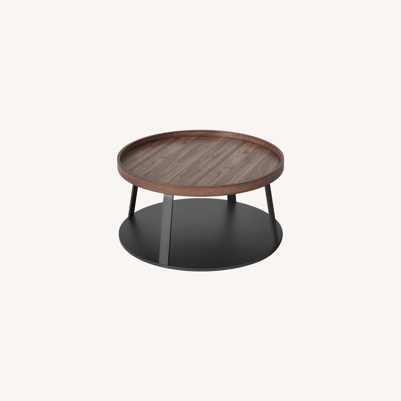 Target Norman Wood/Metal Coffee Table - image-0