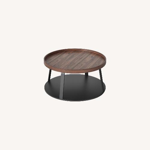Used Target Norman Wood/Metal Coffee Table for sale on AptDeco