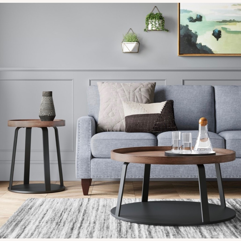 Target Norman Wood/Metal Coffee Table - image-3