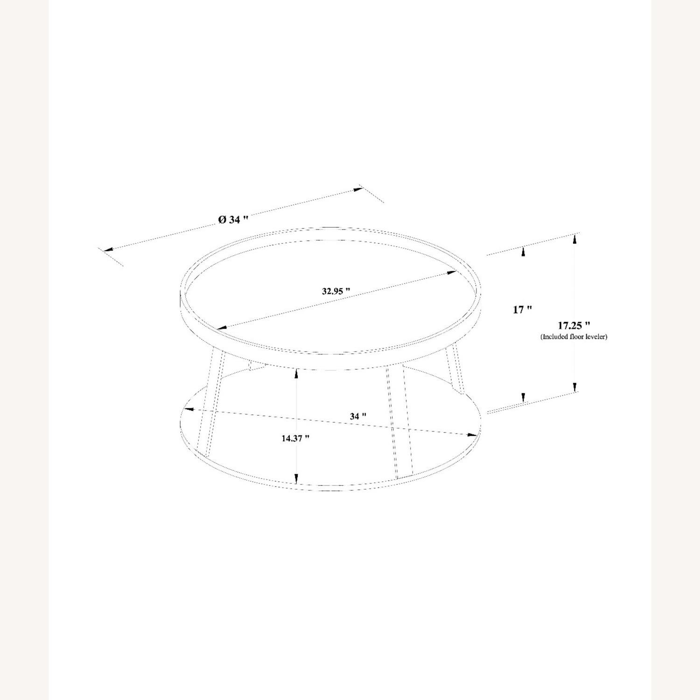 Target Norman Wood/Metal Coffee Table - image-4