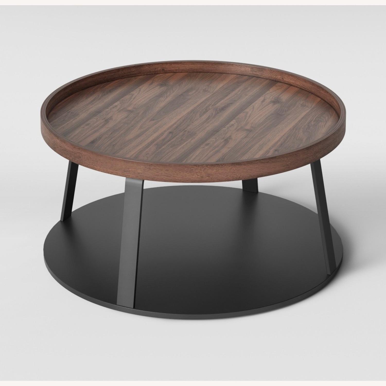 Target Norman Wood/Metal Coffee Table - image-2