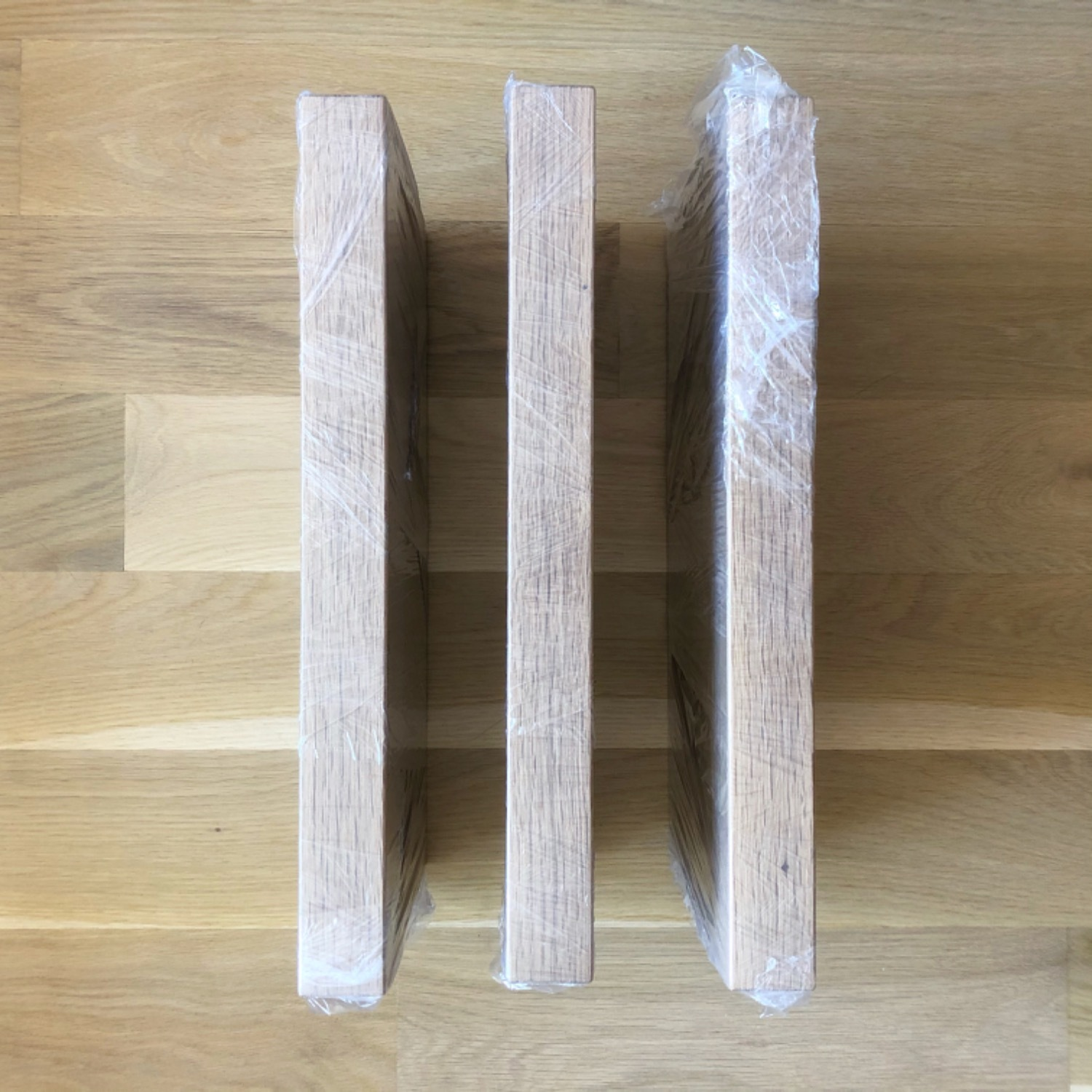 Solid Natural Oak Floating Shelves - image-8