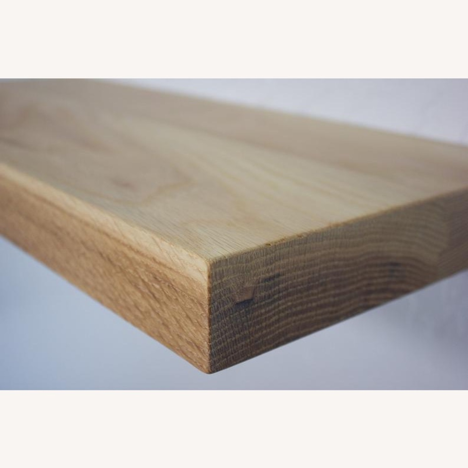 Solid Natural Oak Floating Shelves - image-1
