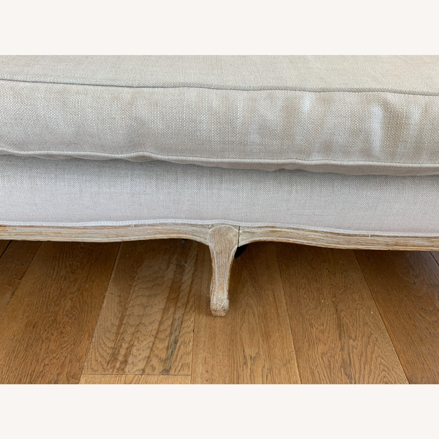 Restoration Hardware Vintage 2 Seater Sofa - image-3