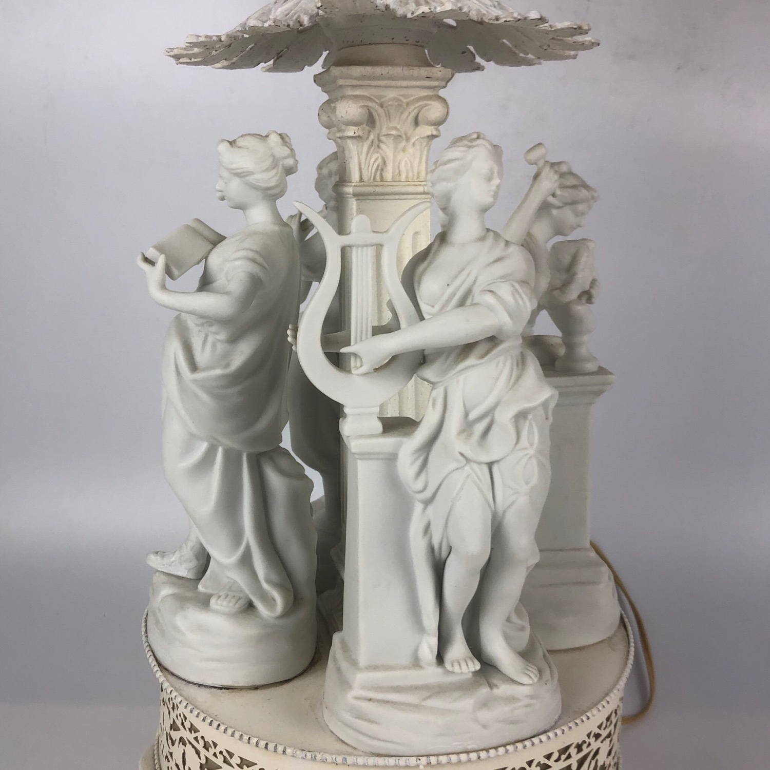 Antique Style Figural Table Lamp - image-13