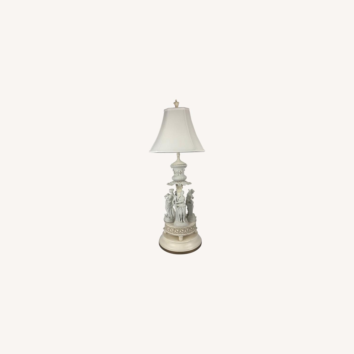 Antique Style Figural Table Lamp - image-0