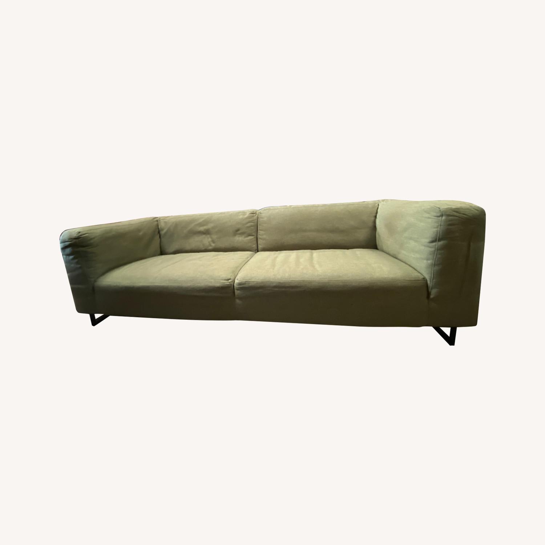 Design 5 Green Upholstered Sofa - image-0