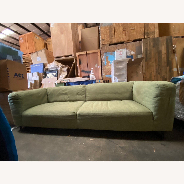 Design 5 Green Upholstered Sofa - image-1