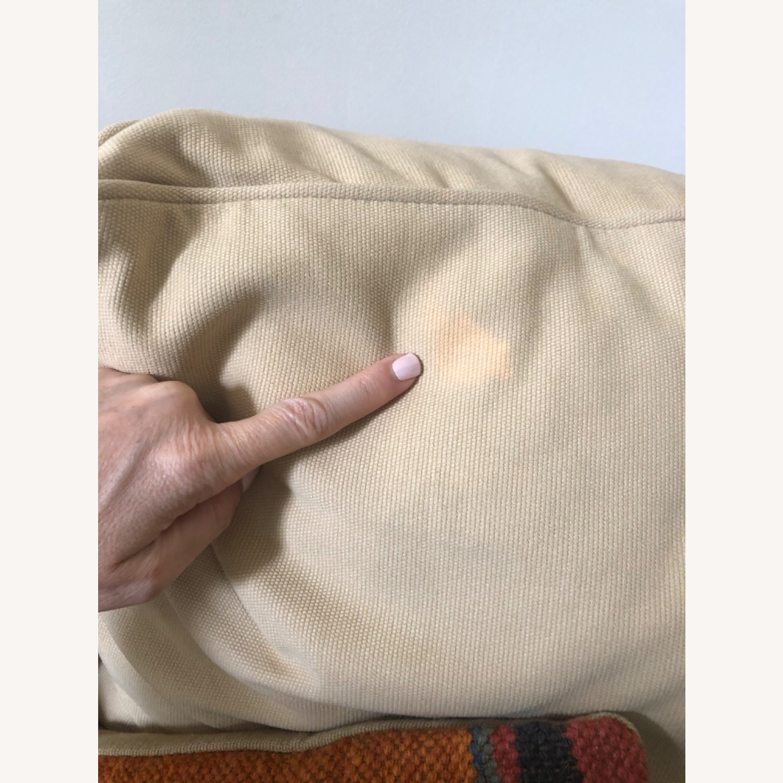 Pottery Barn Comfort Roll Arm Slipcovered Grand Sofa - image-4