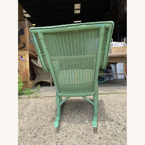 Used Maine Cottage Outdoor Wicker Rockers for sale on AptDeco
