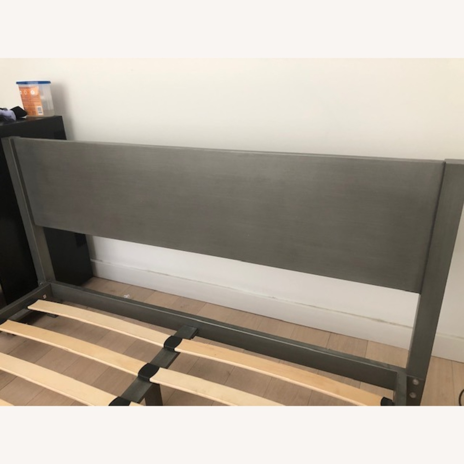 CB2 Grey Full Match Bed - image-3