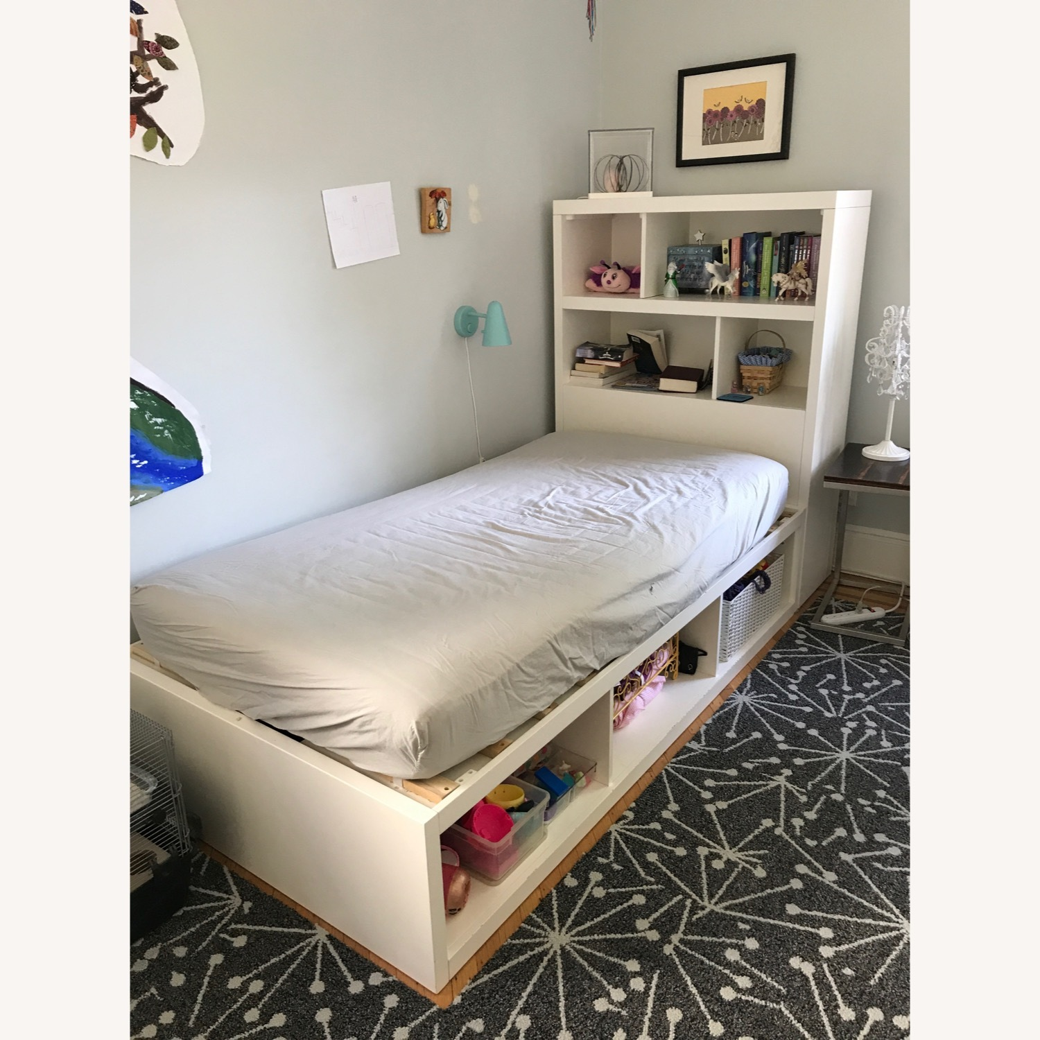 Pottery Barn Teen Twin Bed - image-2