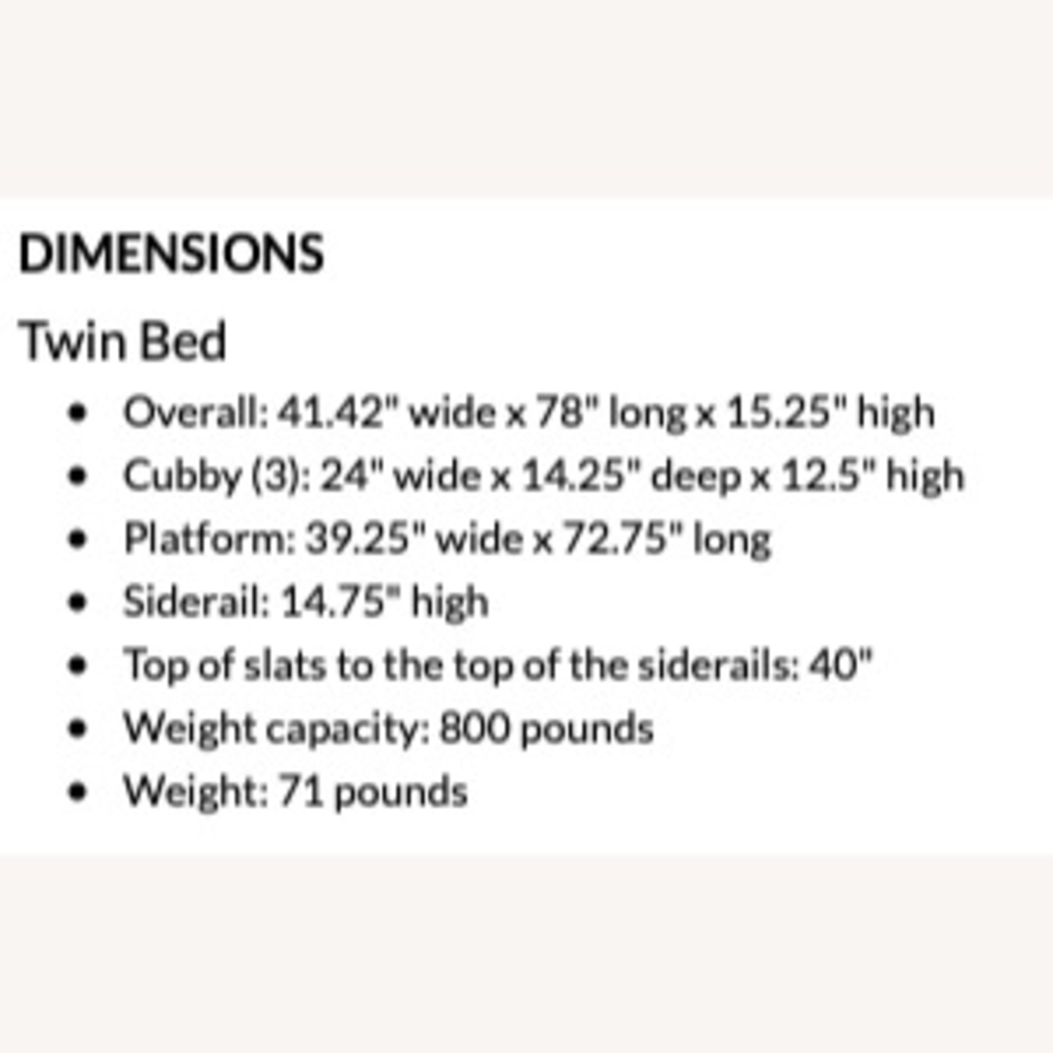 Pottery Barn Teen Twin Bed - image-8
