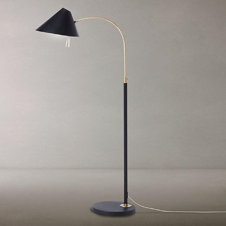 Black West Elm Floor Lamp - image-9