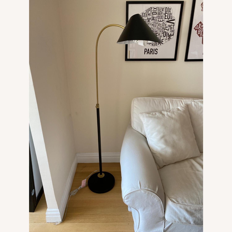 Black West Elm Floor Lamp - image-4