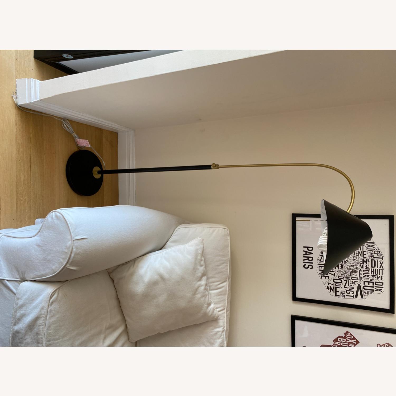 Black West Elm Floor Lamp - image-8