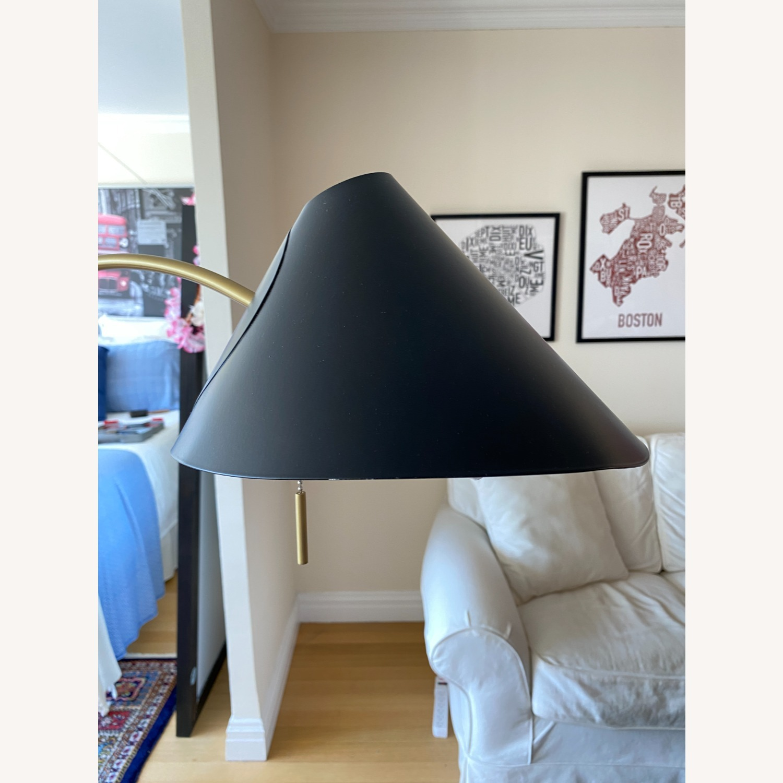 Black West Elm Floor Lamp - image-3