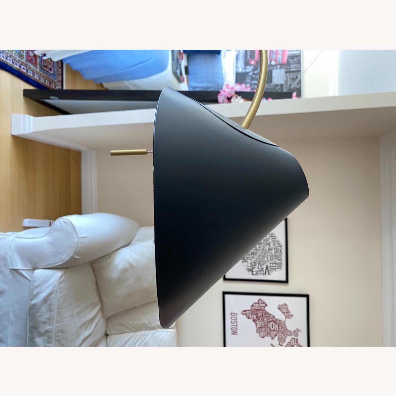 Black West Elm Floor Lamp - image-6