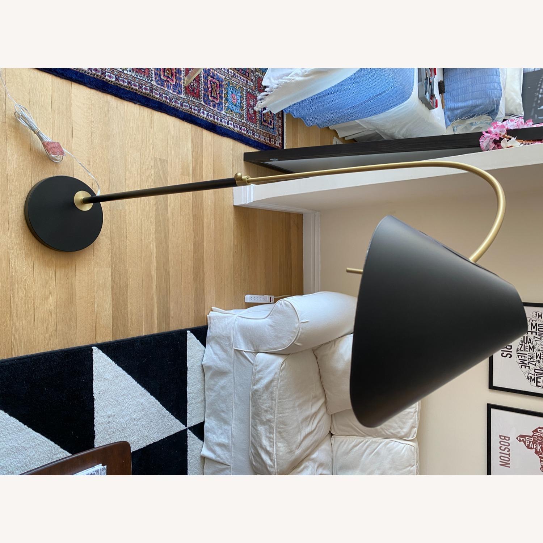 Black West Elm Floor Lamp - image-5