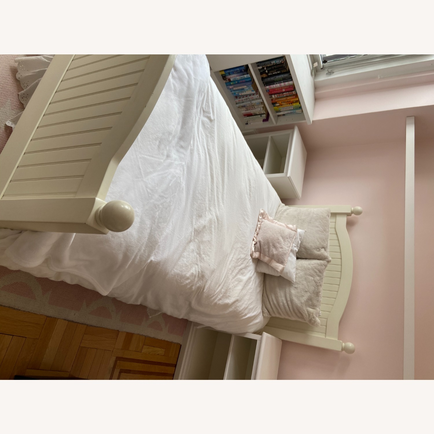 Pottery Barn Kids Catalina Bed, Twin, Simply White - image-4