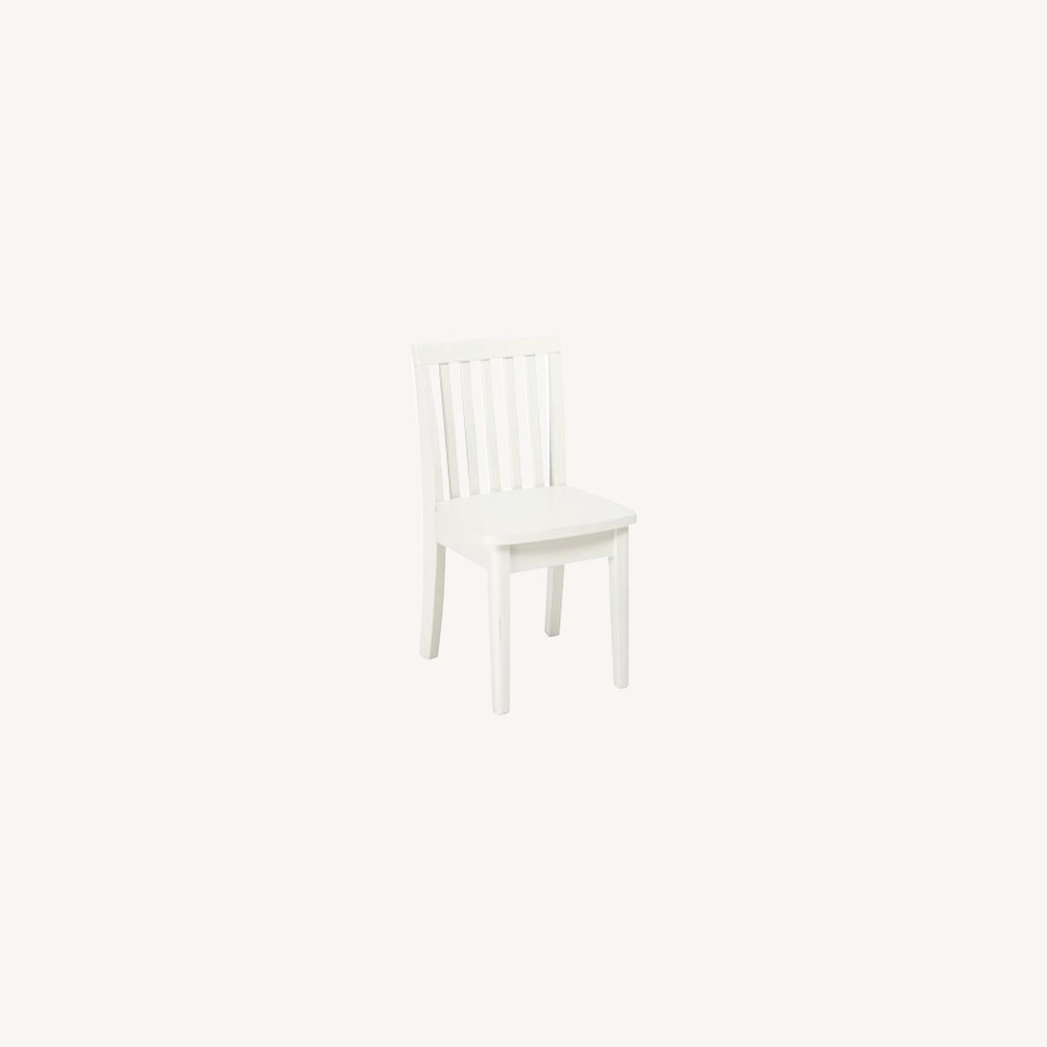 Pottery Barn Kids Desk Chair, Simply White - image-0