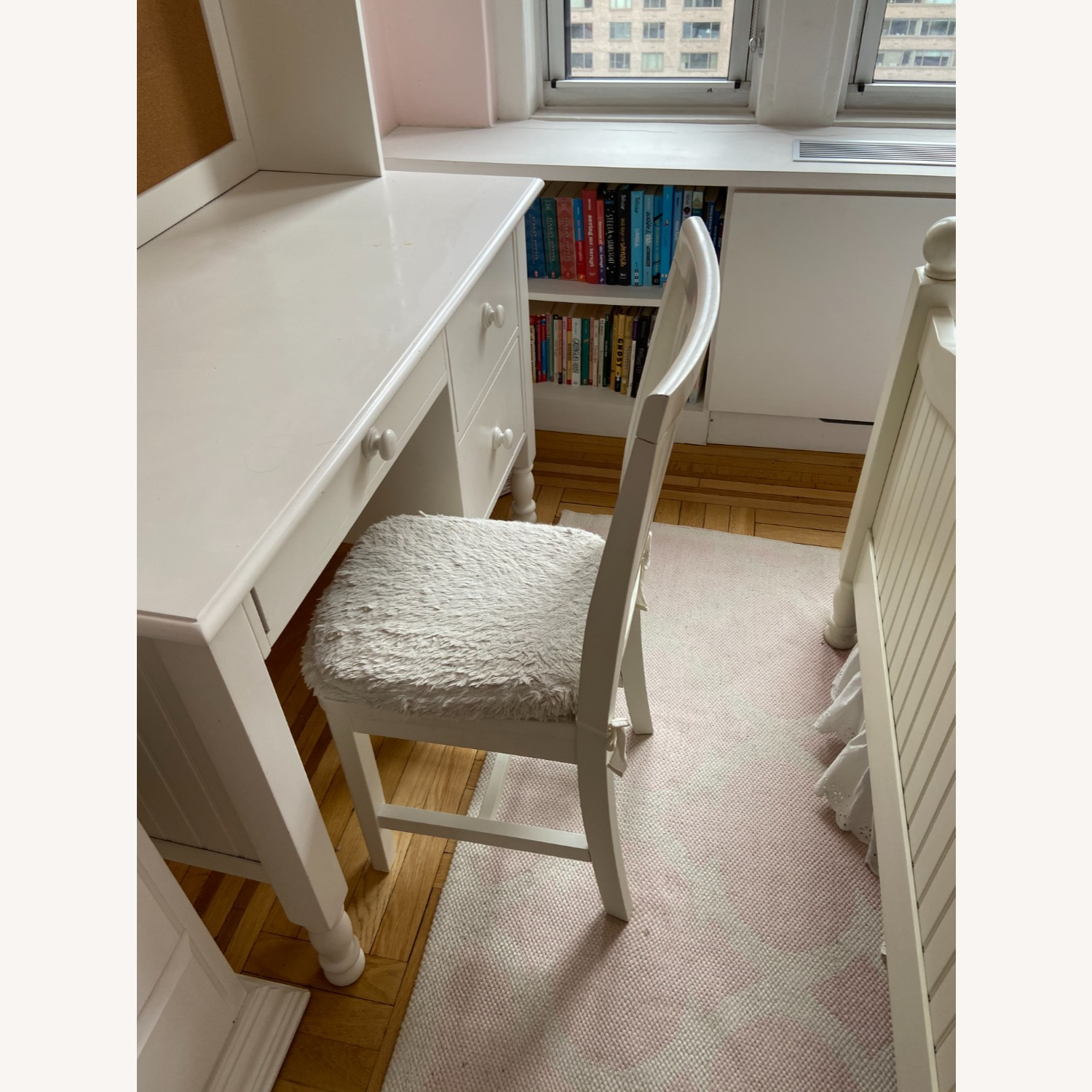 Pottery Barn Kids Desk Chair, Simply White - image-3