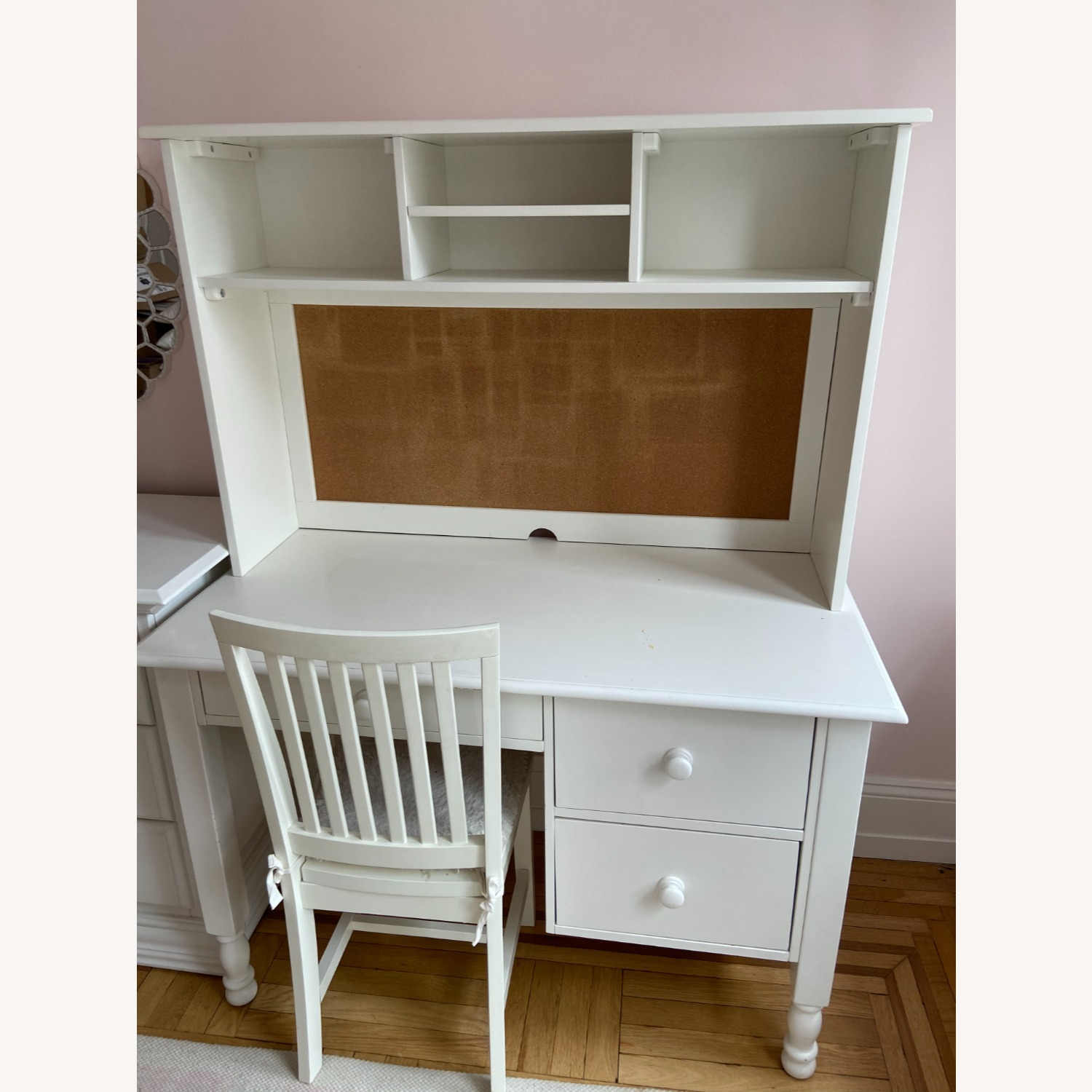 Pottery Barn Kids Desk Chair, Simply White - image-2