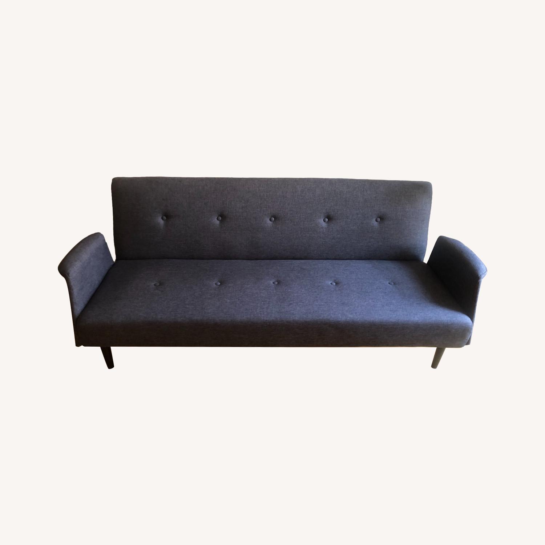Gold Sparrow Dark Grey Sofa Bed - image-0