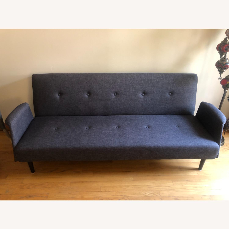 Gold Sparrow Dark Grey Sofa Bed - image-2