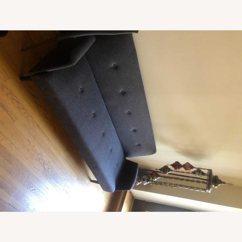 Gold Sparrow Dark Grey Sofa Bed - image-4