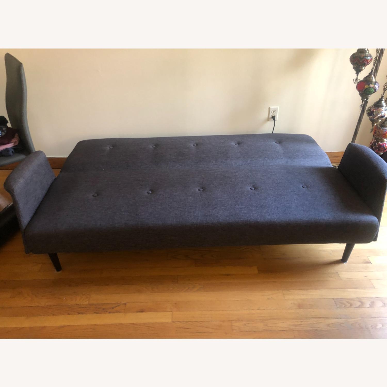 Gold Sparrow Dark Grey Sofa Bed - image-3