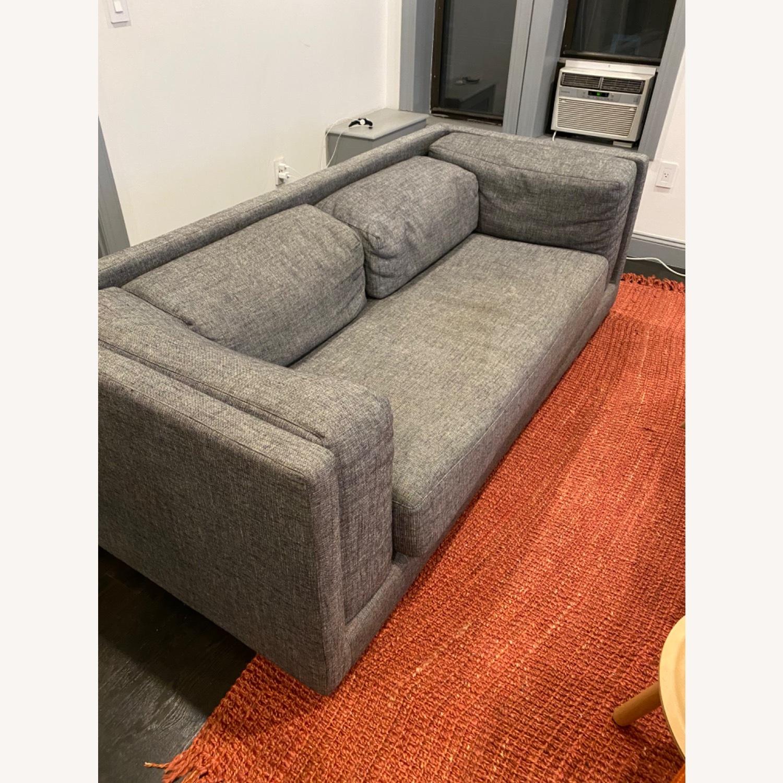 CB2 2-seater Grey Sofa - image-2