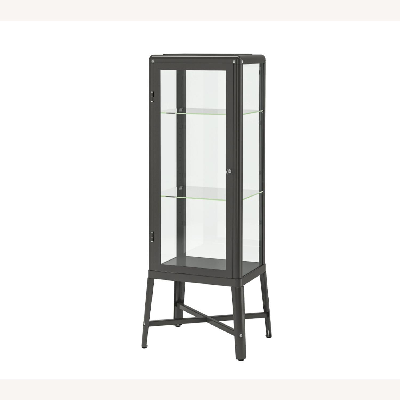 IKEA Fabrikr Glass Door Cabinet - image-2