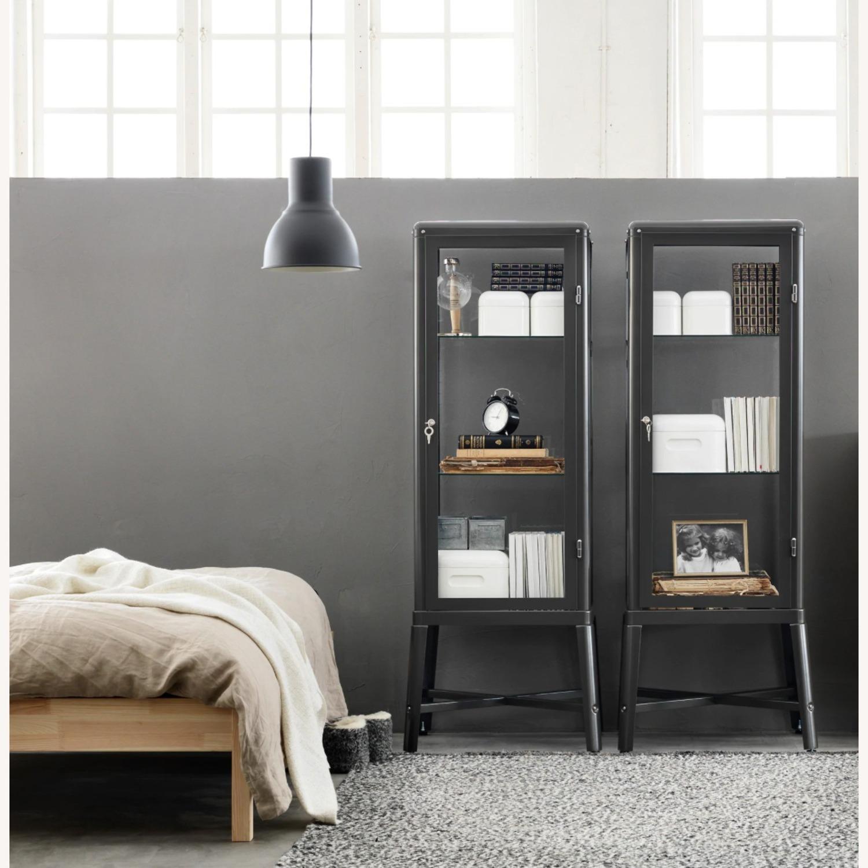 IKEA Fabrikr Glass Door Cabinet - image-1