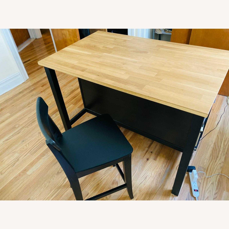 IKEA Barstool with Backrest - image-5